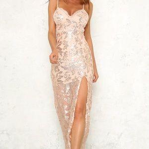 Midnight whispers maxi dress from hello molly!